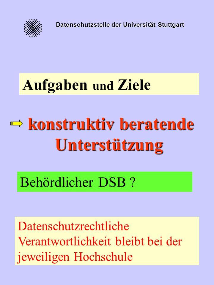 Datenschutzstelle der Universität Stuttgart Verhaltensakzeptanz positivnegativ Einstellungs akzeptanz positivüberzeugt verhindert negativgezwungen Nic