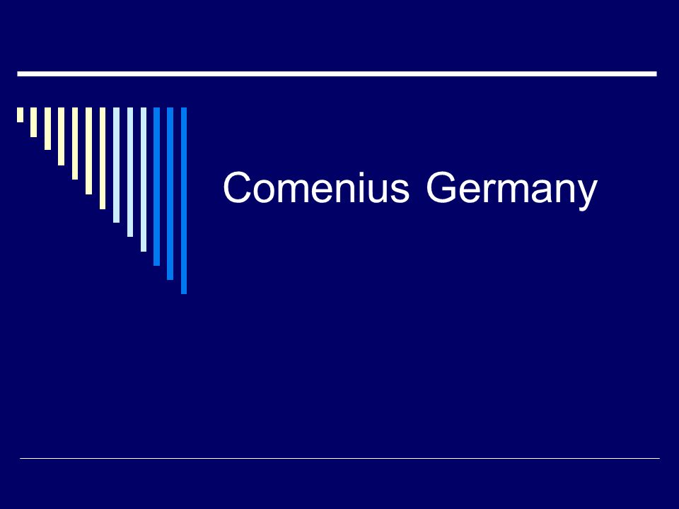Comenius Germany