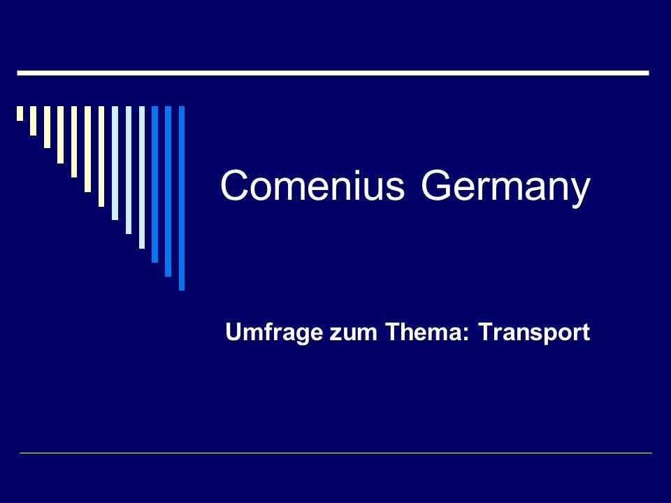 Comenius Germany Umfrage zum Thema: Recycling