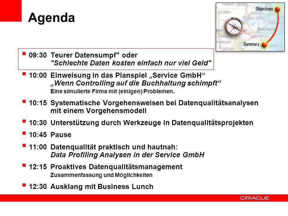 Agenda 09:30 Teurer Datensumpf
