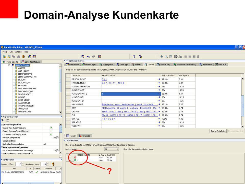 Domain-Analyse Kundenkarte ?