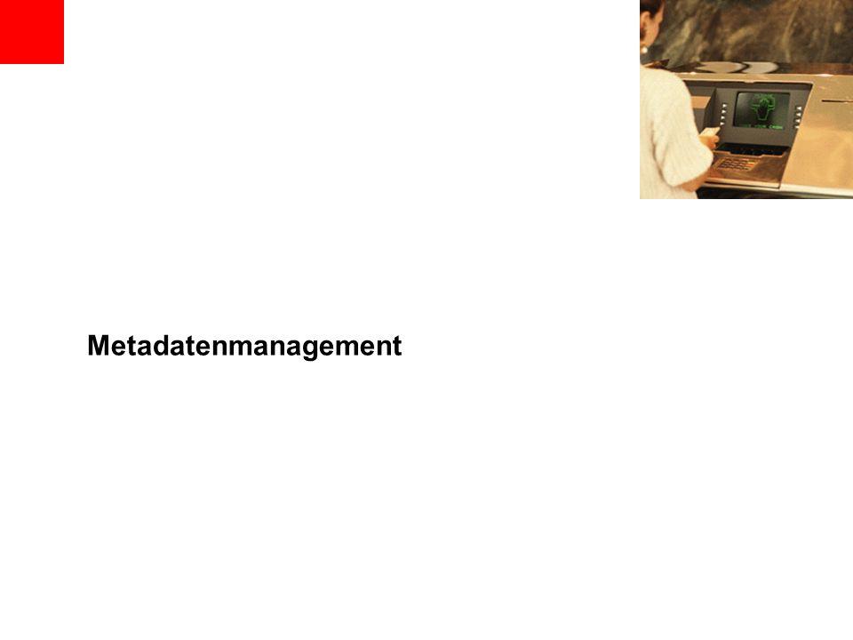 Metadatenmanagement