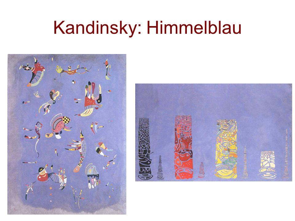 Kandinsky: Himmelblau