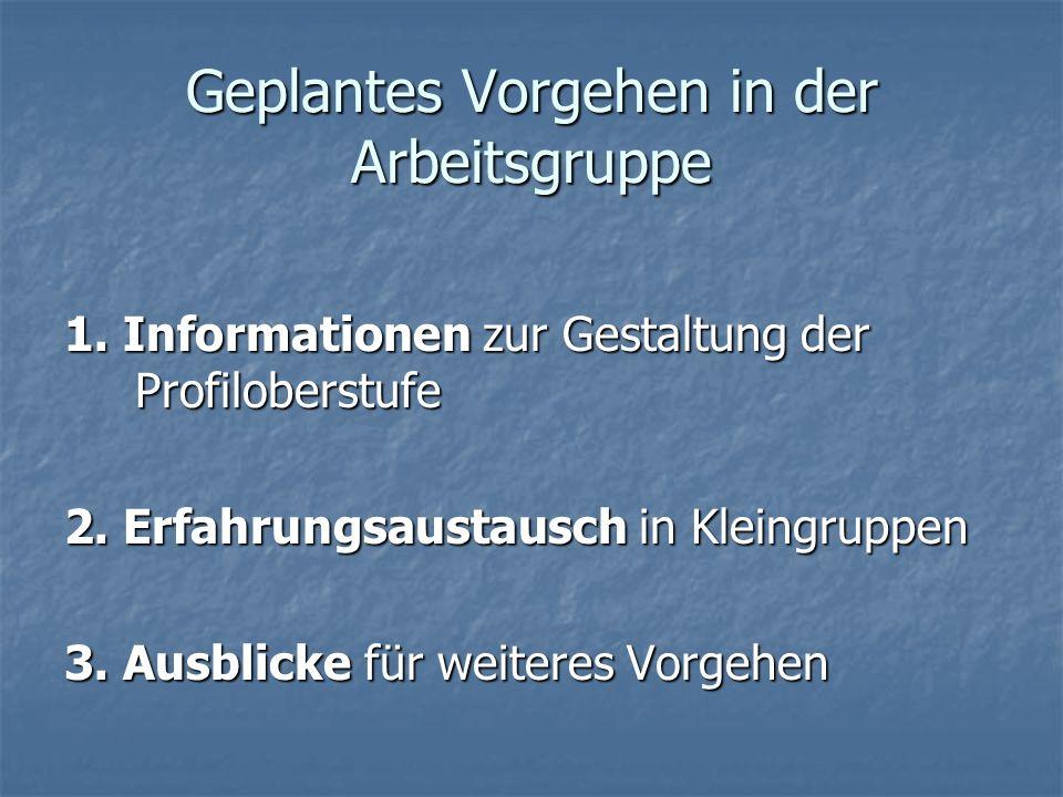 Informationen 1.KMK – Aussagen zum Sport 2.