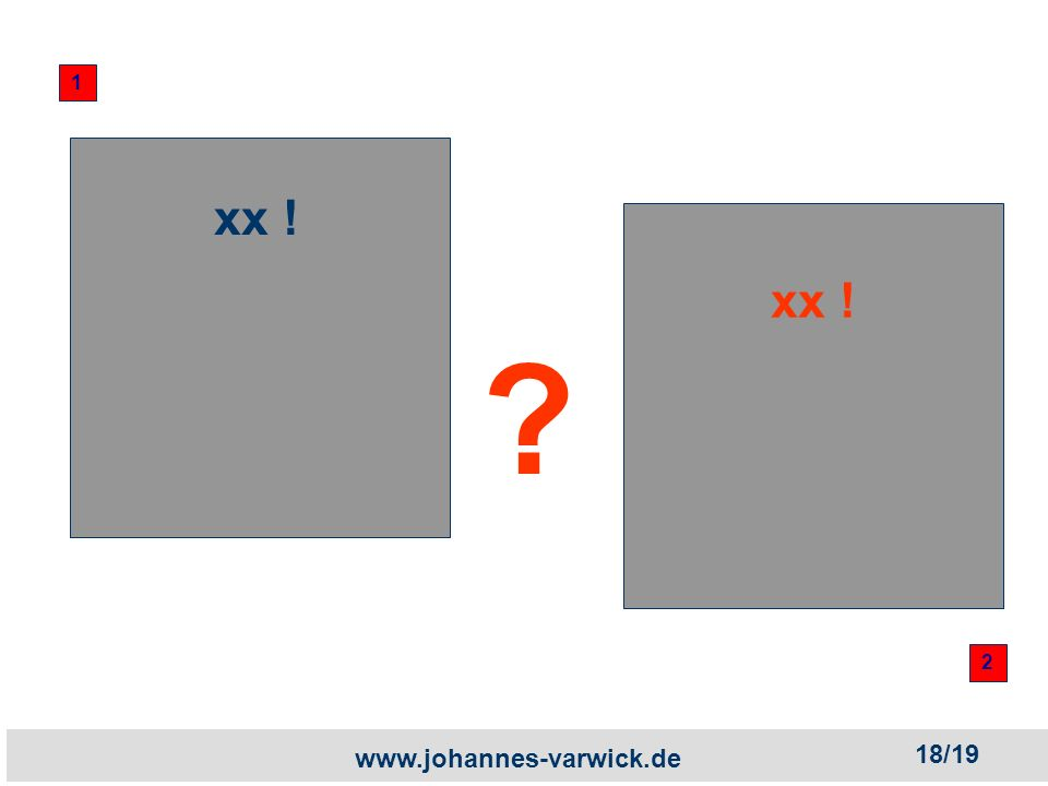 www.johannes-varwick.de xx ! 1 2 18/19