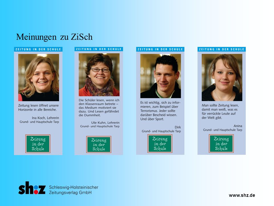 www.shz.de Meinungen zu ZiSch