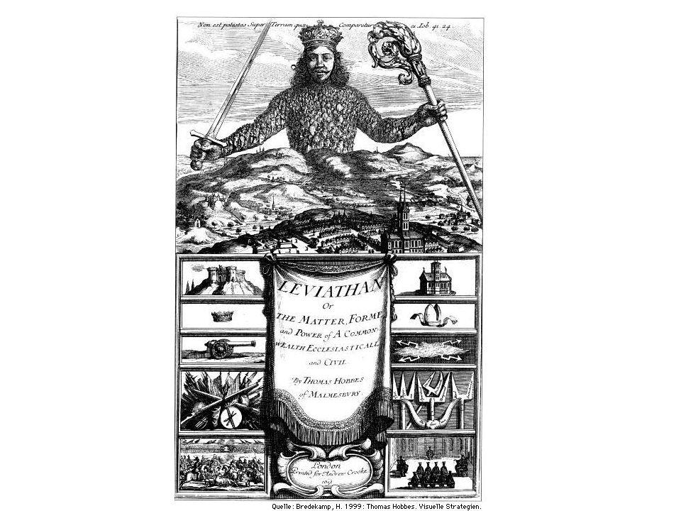 Die Römer erfanden den abstrakten Menschen, Thomas Hobbes erfand die Gesamtheit aller abstrakten Menschen -- den Staat.