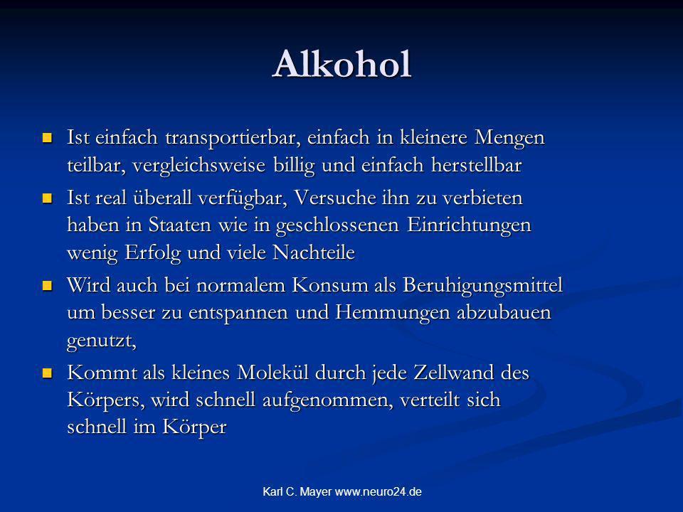 Karl C. Mayer www.neuro24.de Biologie, Umwelt und Verhalten