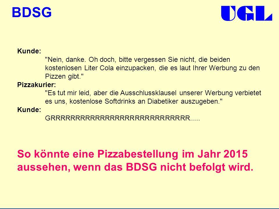 BDSG Kunde: