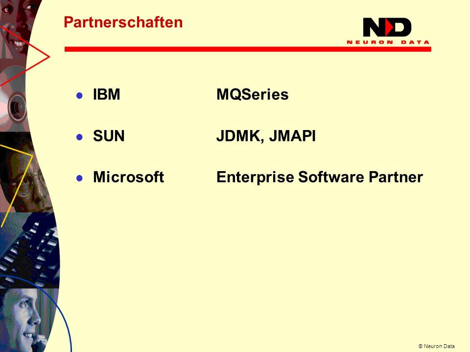 © Neuron Data Die Deklaration der Business-Rules ist so einfach, daß sie von allen Fachabteilungen selbst durchgeführt werden kann.