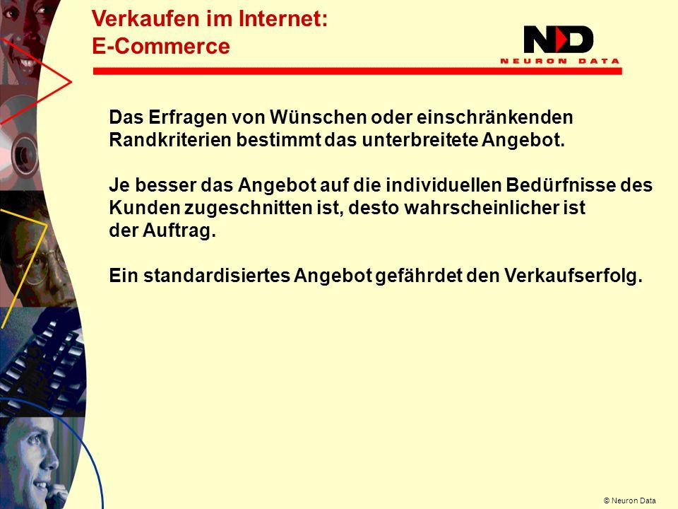 © Neuron Data Der virtuelle Berater Das Konzept