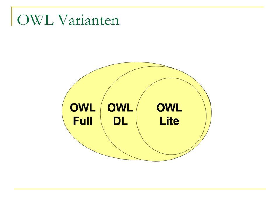 OWL Varianten