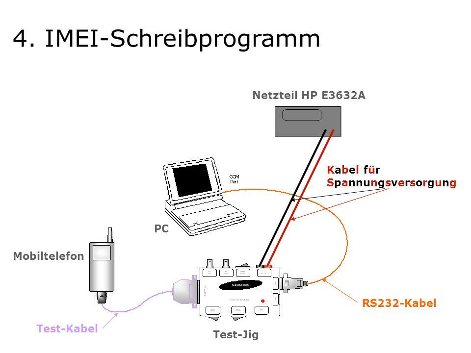 Netzteil HP E3632A Kabel für Spannungsversorgung Test-Kabel RS232-Kabel Test-Jig Mobiltelefon PC 4.