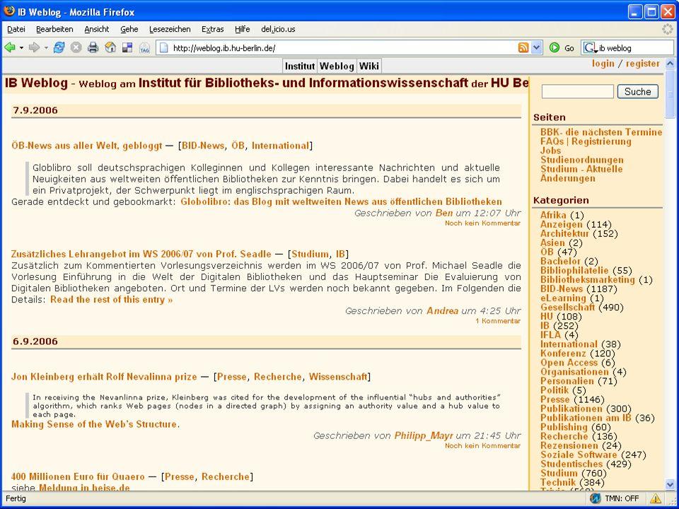 Inetbib-Tagung 2006, Münster 8.9.2006 8/25