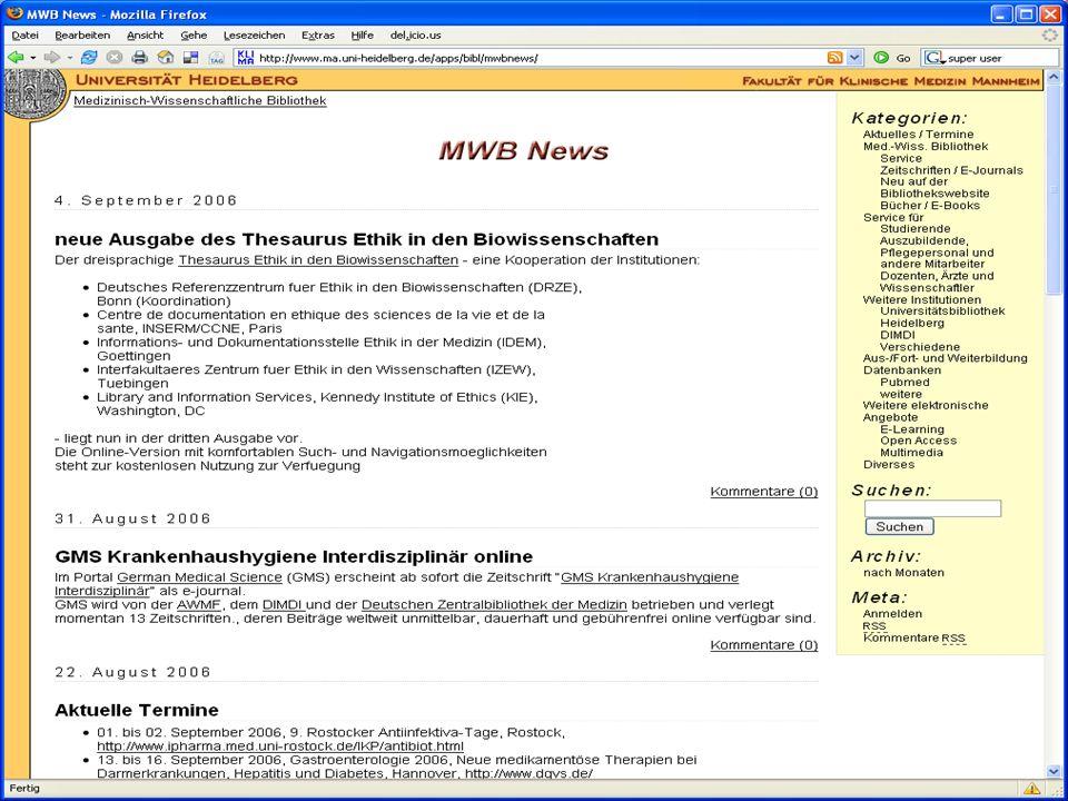 Inetbib-Tagung 2006, Münster 8.9.2006 9/25