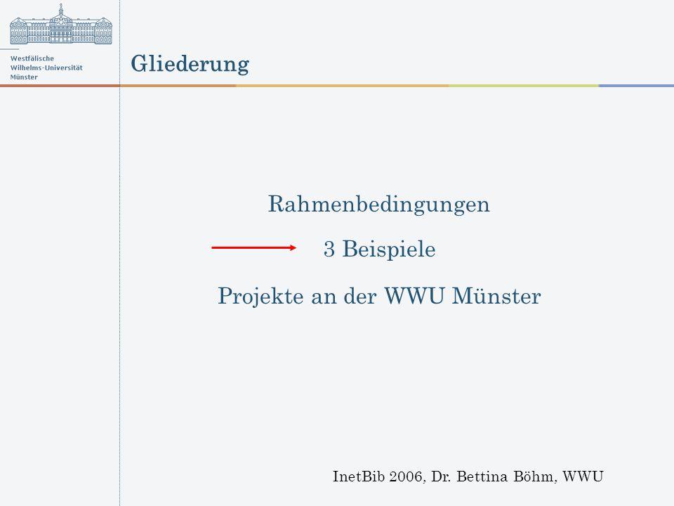 Beispiel Budgetierung MEMO 2006, Dr.