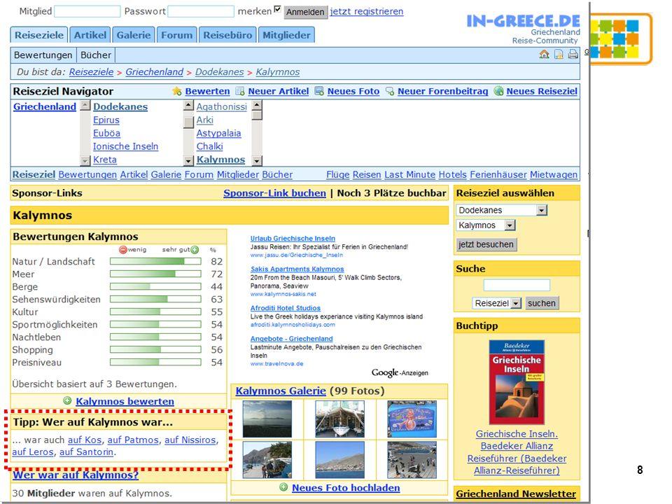 19 Empfehlungslisten 2007