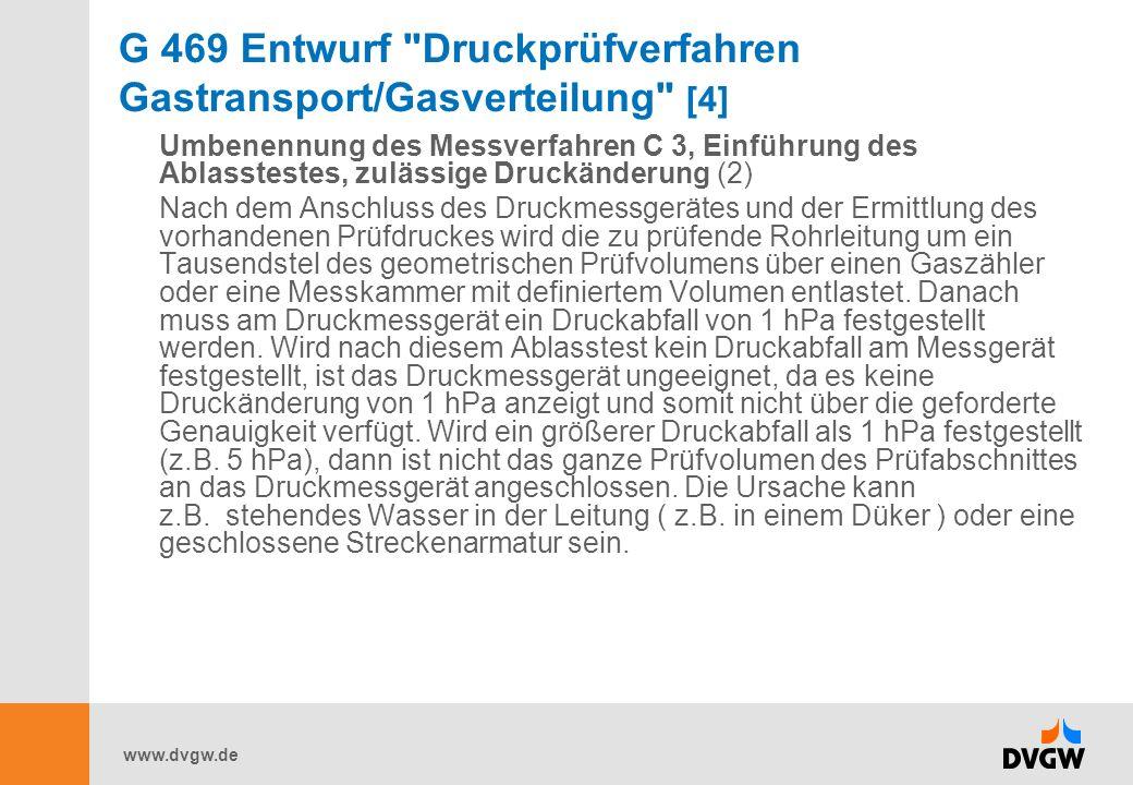 www.dvgw.de W 405 Bereitstellung von Löschwasser durch die öffentliche Trinkwasserversorgung [3] Es begründet keine Rechtspflichten, insbesondere nicht zwischen Gemeinde und Wasserversorgungsunternehmen (WVU).