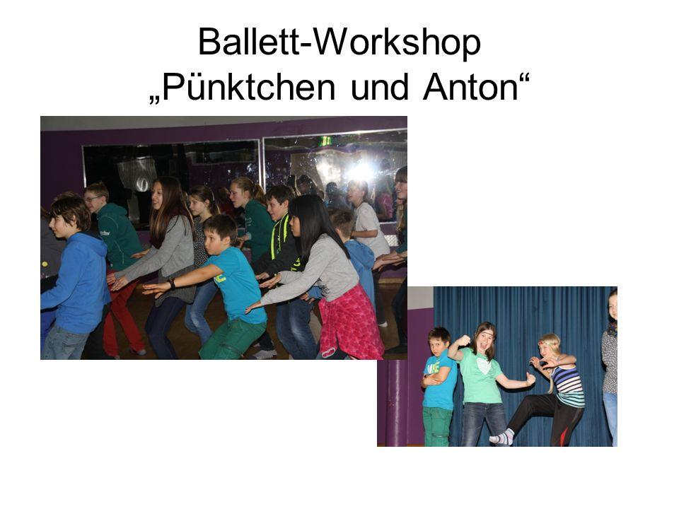 Ballett-Workshop Pünktchen und Anton