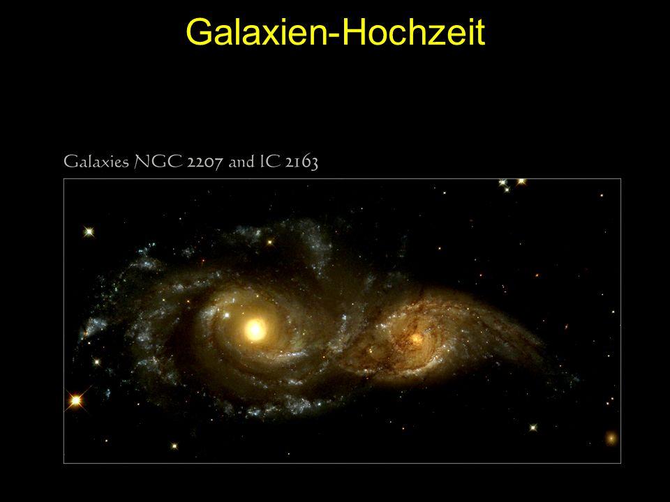 Galaxien-Hochzeit