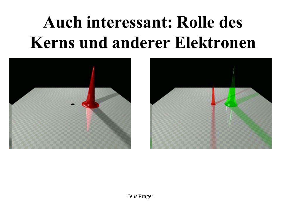 Jens Prager Auch interessant: Rolle des Kerns und anderer Elektronen