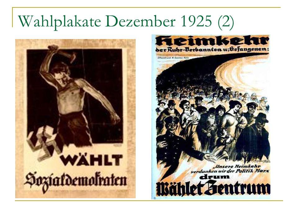 Wahlplakate Dezember 1925 (2)