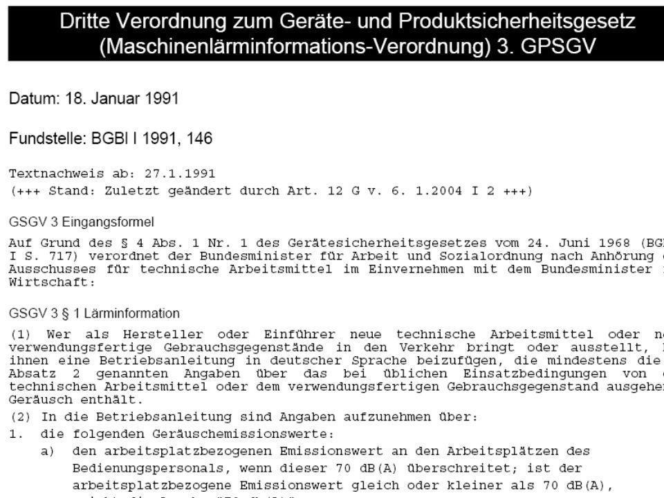 © Carl-Heinz Gabriel RG Berlin-Brandenburg 29.01.07 Wie finde ich die richtigen Normen? 17