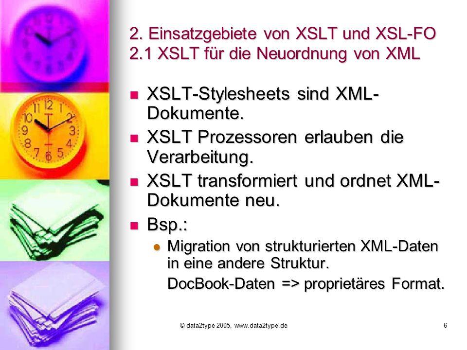 © data2type 2005, www.data2type.de6 2.