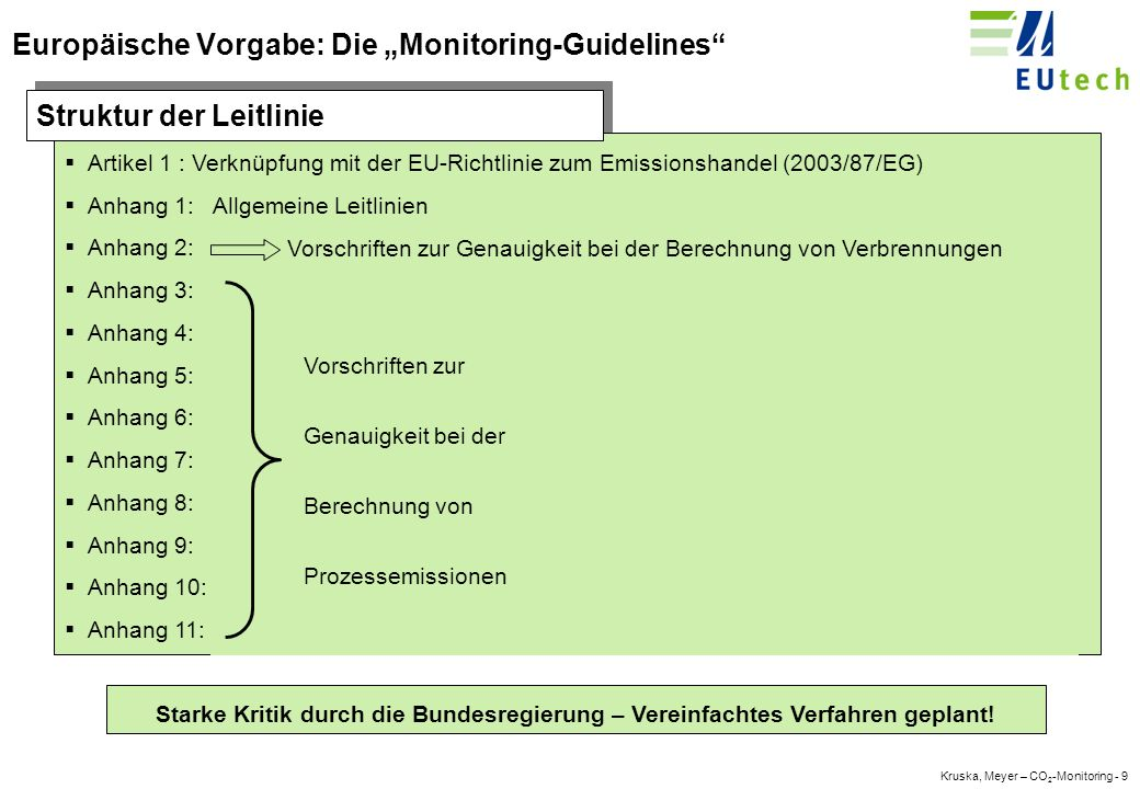 Kruska, Meyer – CO 2 -Monitoring - 39 Vielen Dank für Ihre Aufmerksamkeit.