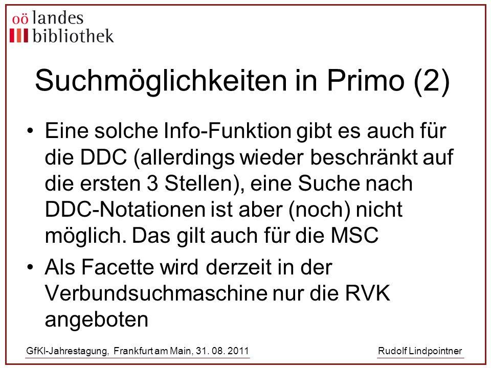 GfKl-Jahrestagung, Frankfurt am Main, 31. 08.