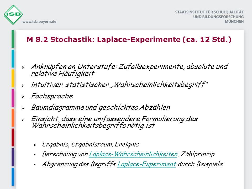 M 8.2 Stochastik: Laplace-Experimente (ca.
