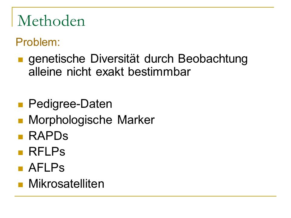 Ökologische Nische Ergebniss: benthische Wirbellosen Morphe Zooplankton Morphe Hauptnahrung: