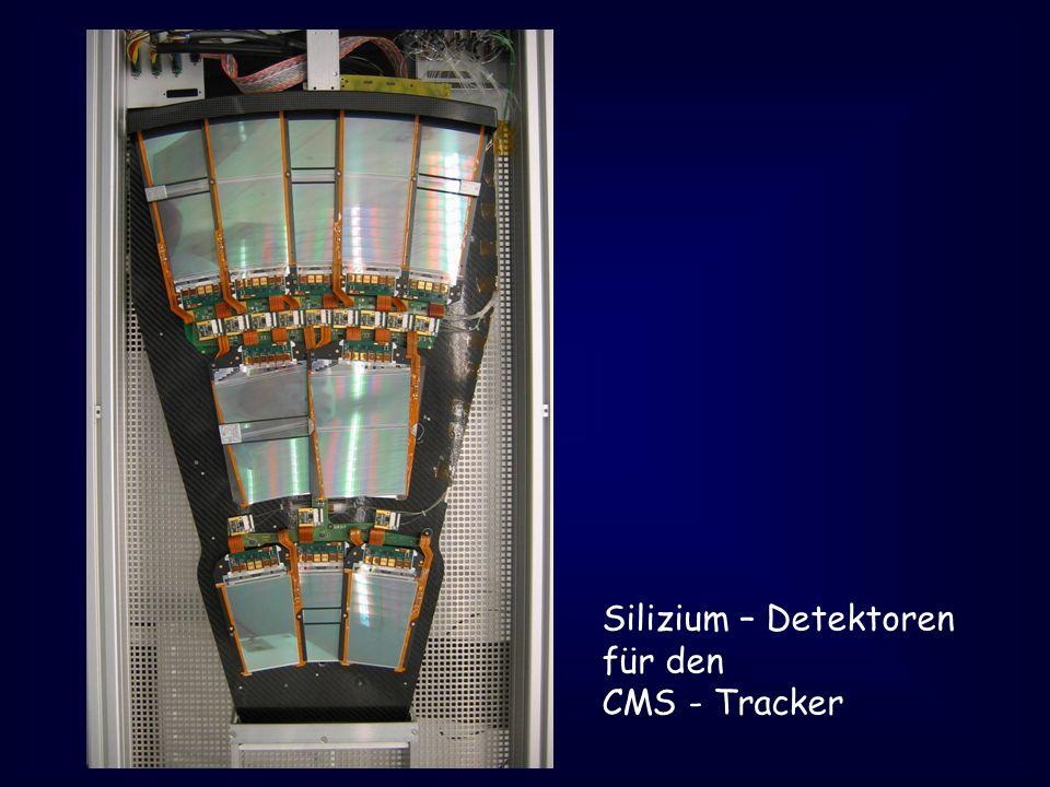 Silizium – Detektoren für den CMS - Tracker