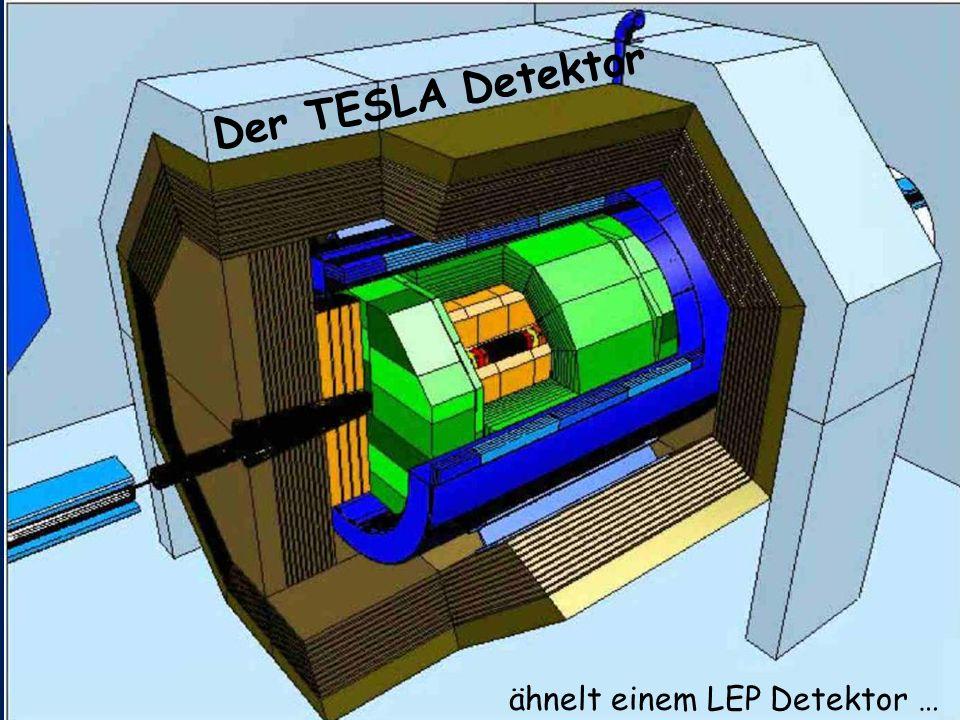 Der TESLA Detektor ähnelt einem LEP Detektor …