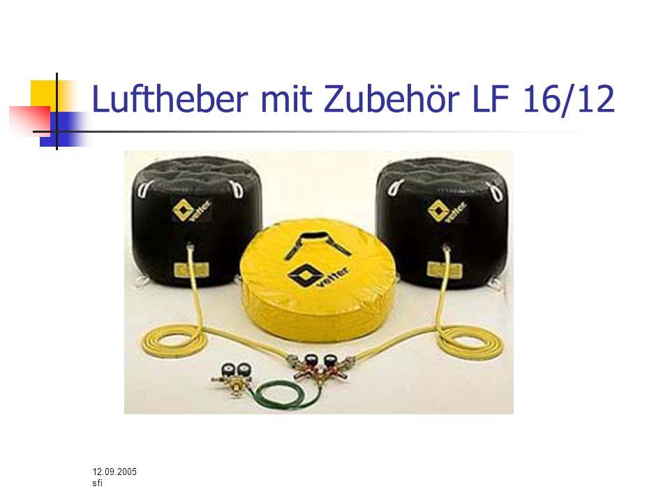 12.09.2005 sfi Luftheber mit Zubehör LF 16/12