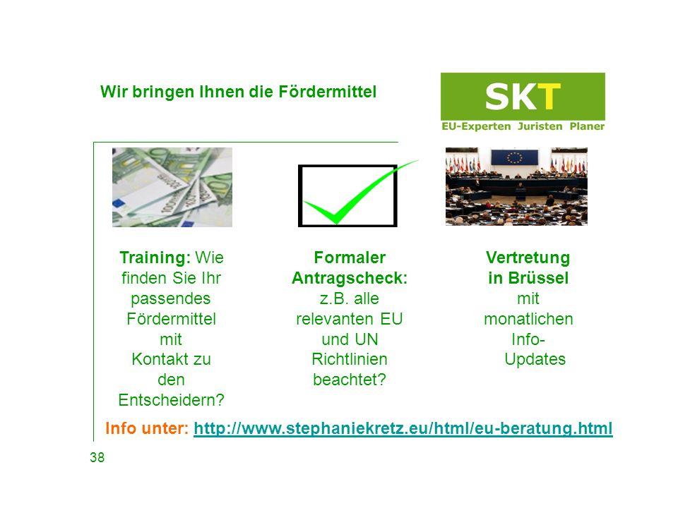Präsentation & Kontakt Download: http://www.stephaniekretz.eu/html/aktuell.html Gerne beraten wir Sie vorab individuell und unverbindlich.