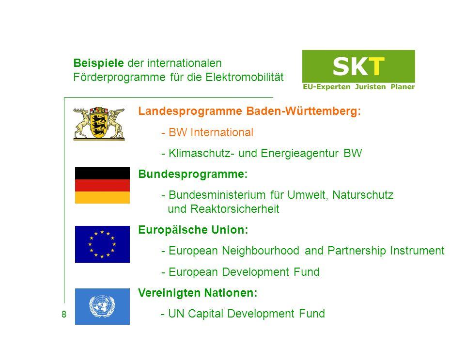 BW International Ausgeschriebene Themenstellung 9 Baden-Württemberg International steht in- und ausländischen Unternehmen, Forschungseinrichtungen, Hochschulen sowie Regionen und Kommunen als zentraler Ansprechpartner und First Point of Contact für Unternehmensansiedlungen und -kooperationen sowie im Bereich des Know-how-Transfer zur Verfügung*.