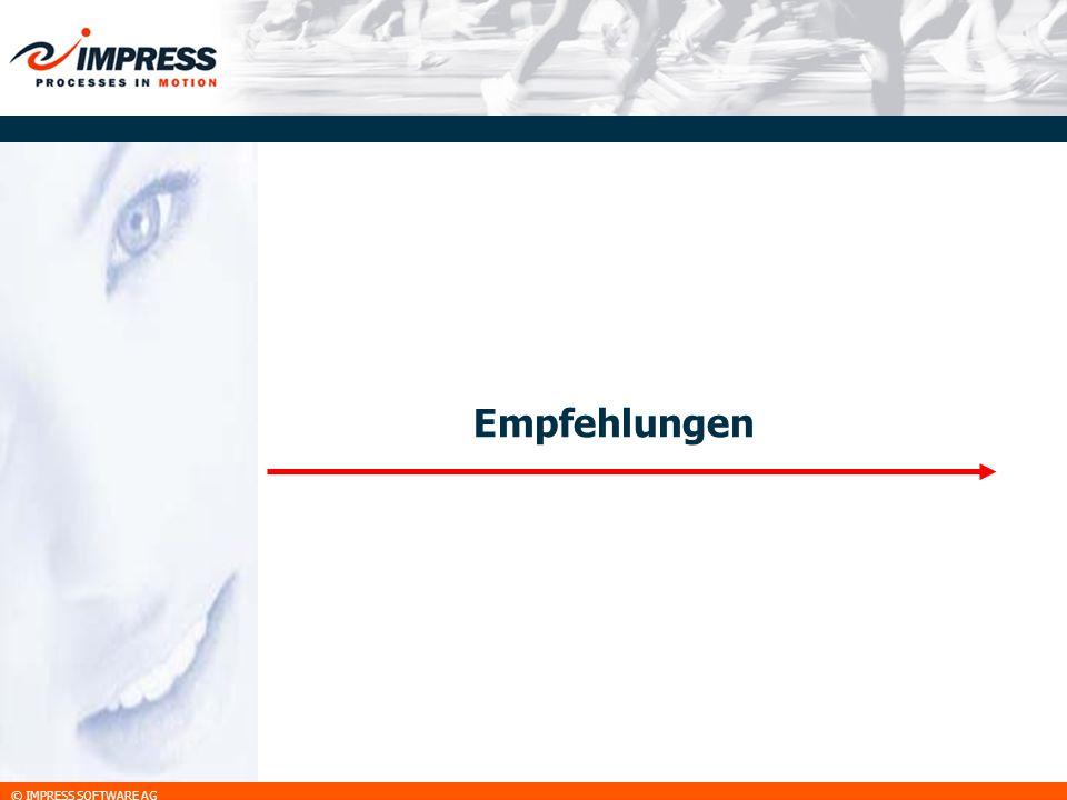 © IMPRESS SOFTWARE AG Empfehlungen