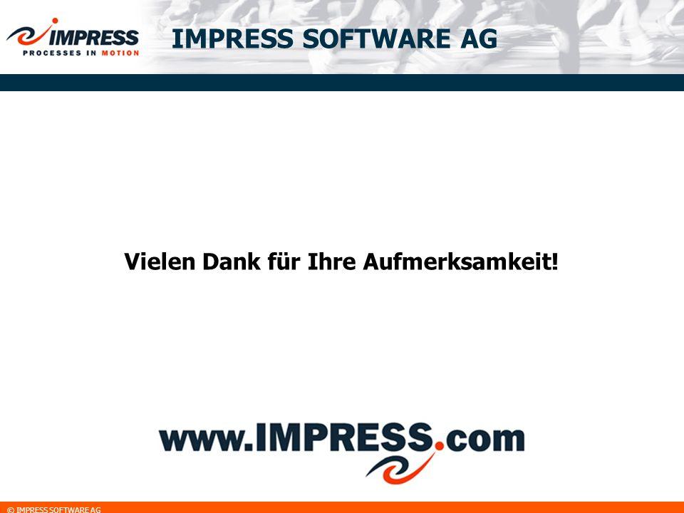 © IMPRESS SOFTWARE AG IMPRESS SOFTWARE AG Vielen Dank für Ihre Aufmerksamkeit!
