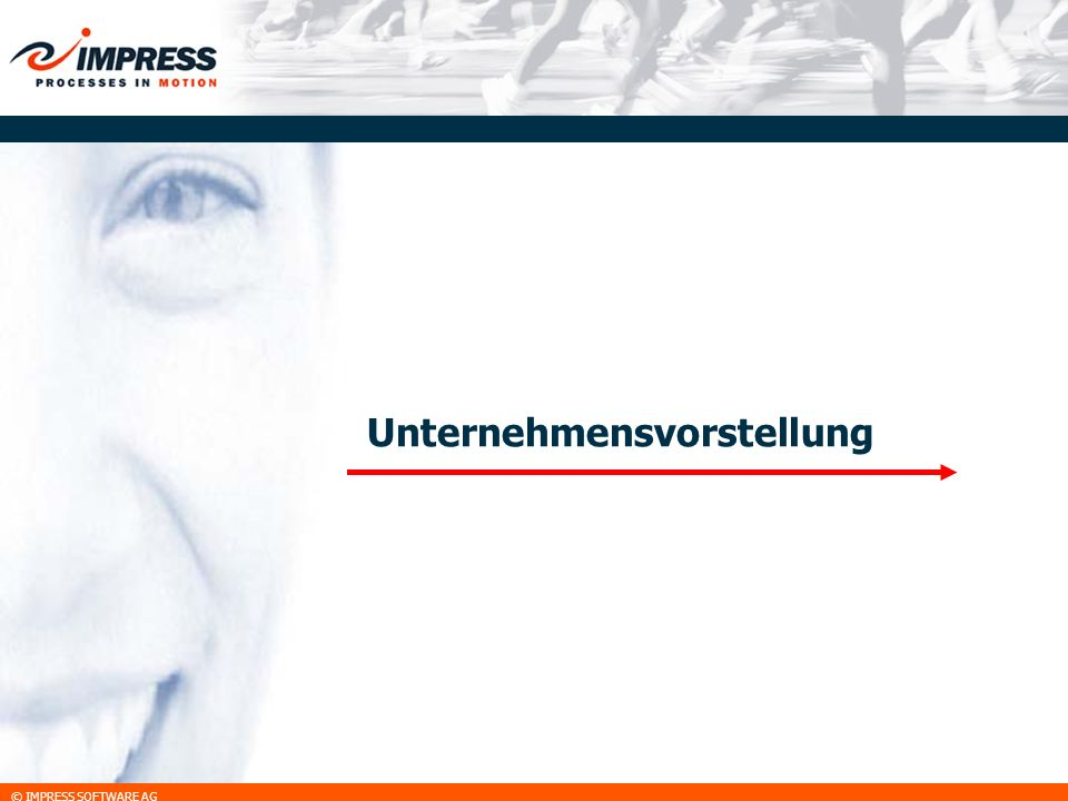 © IMPRESS SOFTWARE AG Unternehmensvorstellung