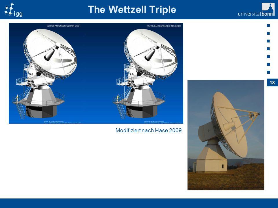 18 The Wettzell Triple Modifiziert nach Hase 2009