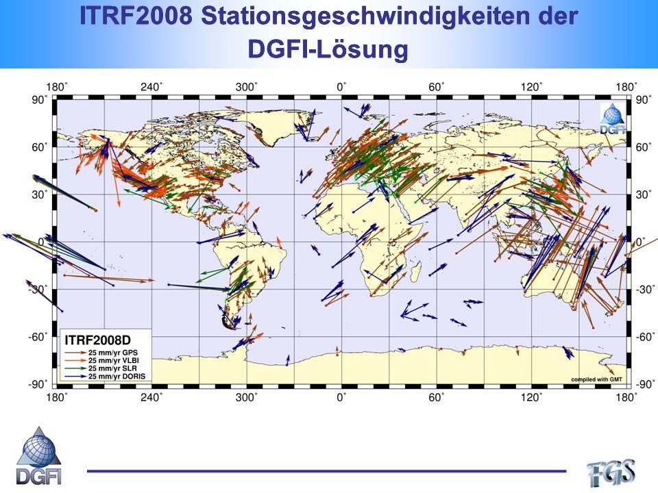 GGOS-D Projekt Stationshöhen-Zeitreihe von Wettzell (Tesmer et al., 2008) Definition und Implementierung einheitlicher Standards, Modelle und Parametrisierungen für eine konsistente Reprozessierung von VLBI, SLR und GPS-Beobachtungen.