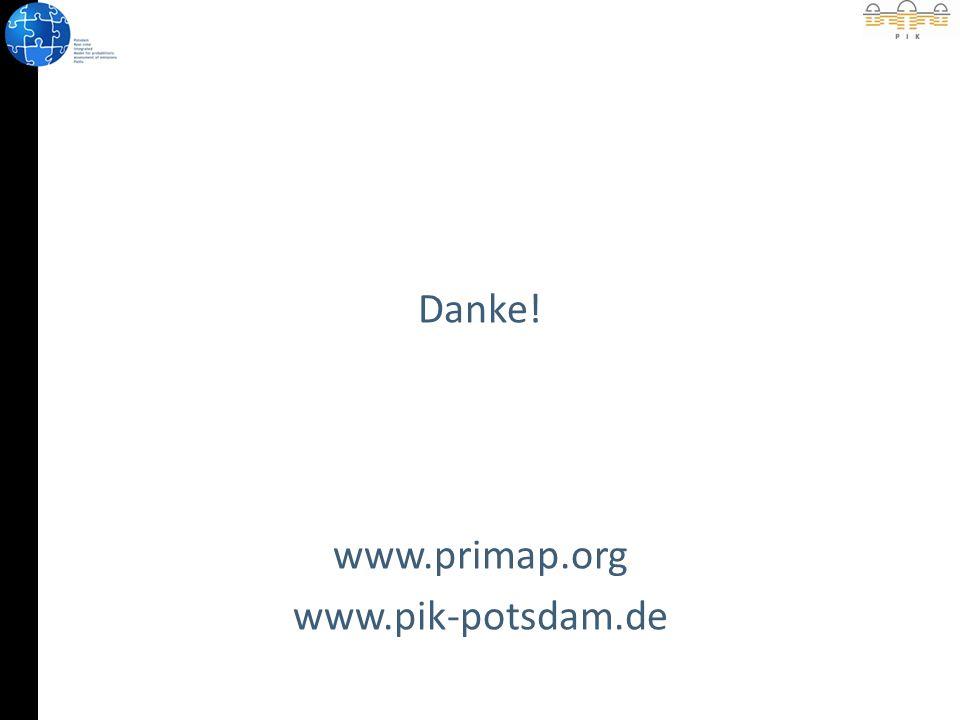 Danke! www.primap.org www.pik-potsdam.de