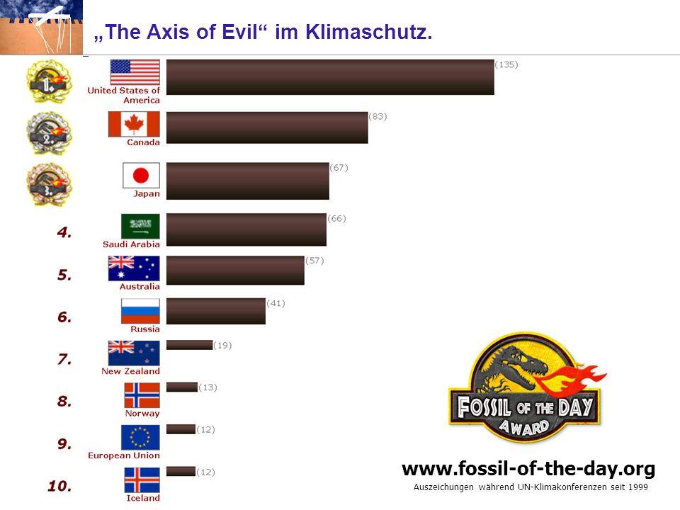 Auszeichnungen für die Bremser im Klimaschutz. Vanessa Atkinson, Greenpeace New Zealand