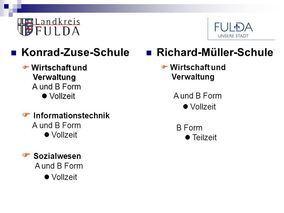 Berufliche Schulen des Landkreises und der Stadt Fulda Berufliche Perspektiven nach dem Abschluss der Fachoberschule