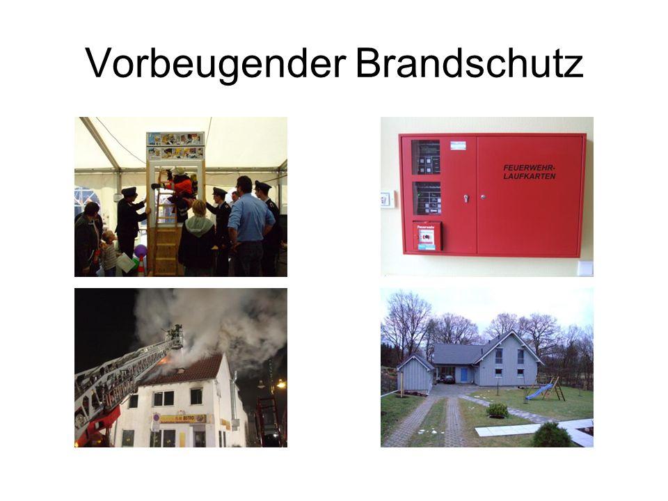 Vorbeugender Brandschutz