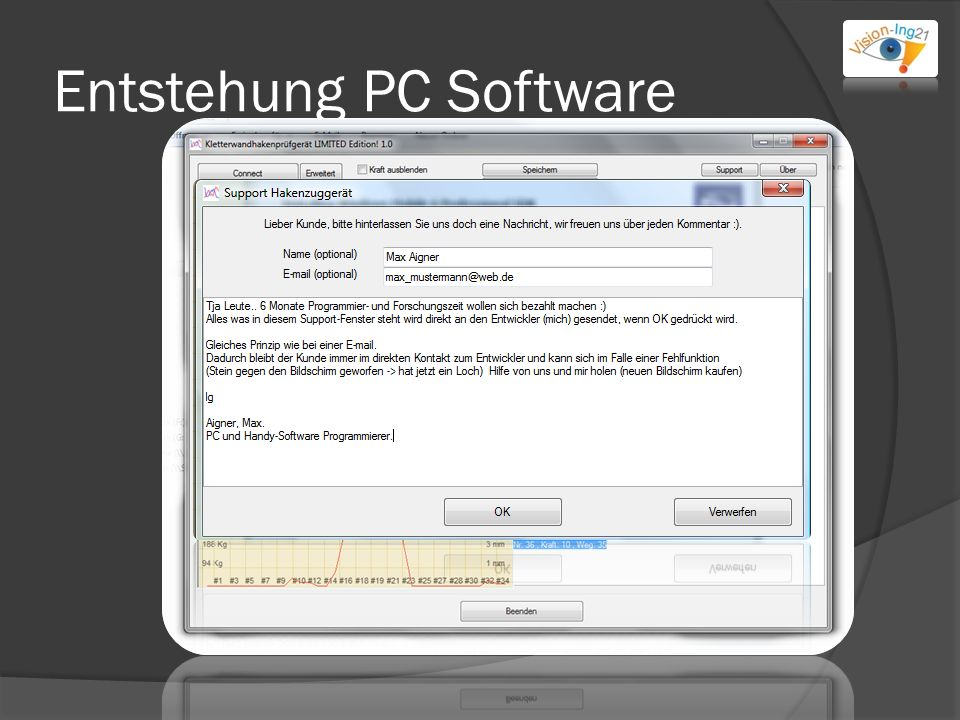 Entstehung PC Software