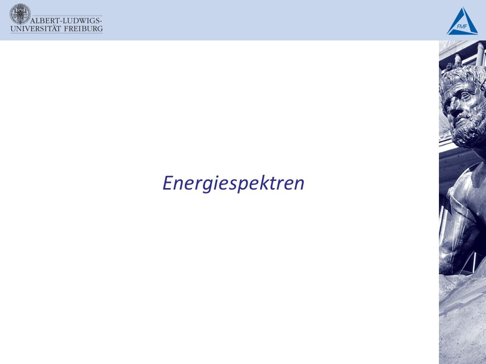 Energiespektren