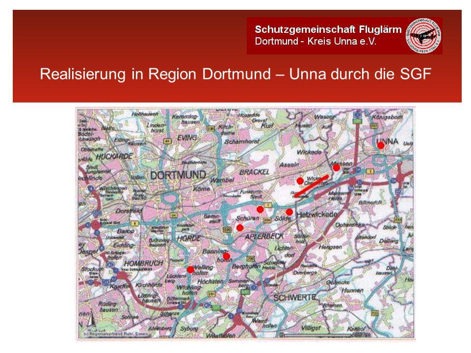 Realisierung in Region Dortmund – Unna durch die SGF