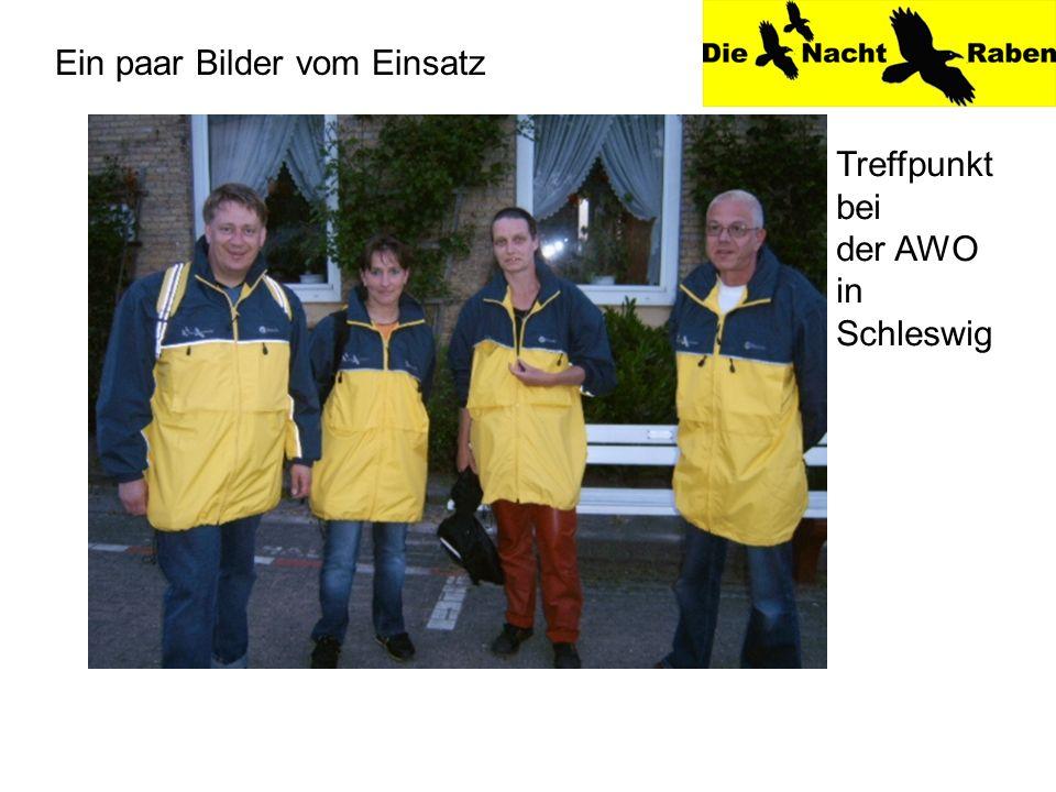 Ein paar Bilder vom Einsatz Treffpunkt bei der AWO in Schleswig
